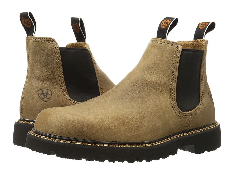 Ariat - Spothog (Prairie Sand) Mens Work Pull-on Boots