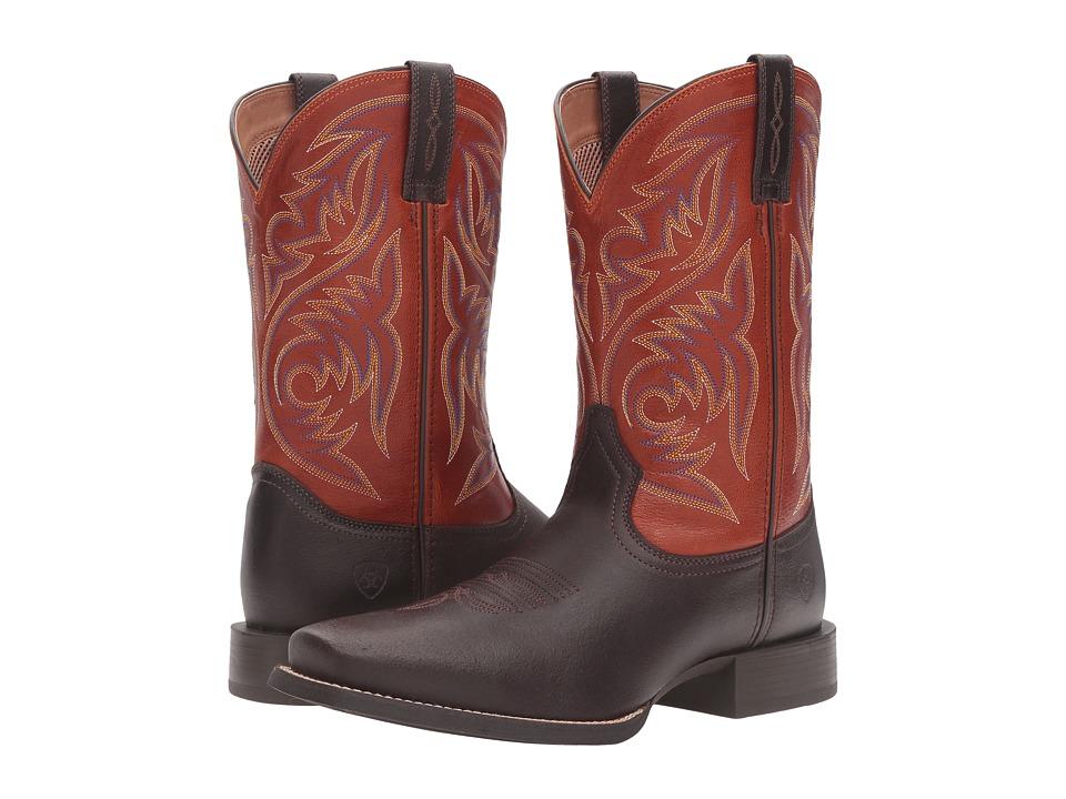 Ariat Sport Herdsman (Java/Autuwn Dust) Cowboy Boots