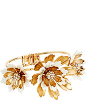 Betsey Johnson - Dream of Betsey Flower Hinge Bangle