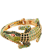 Betsey Johnson - Calypso Alligator Hinged Bangle