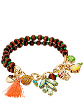 Betsey Johnson - Calypso Charm Stretch Bracelet