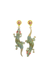 Betsey Johnson - Calypso Alligator Non-Matching Earrings