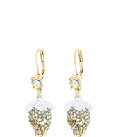 Betsey Johnson - Dream of Betsey Skull Drop Earrings
