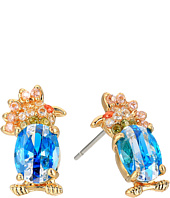 Betsey Johnson - Calypso Bird Stud Earrings