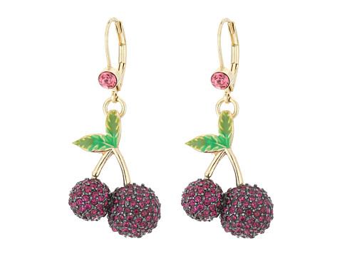 Betsey Johnson Calypso Cherry Drop Earrings