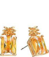 Betsey Johnson - Calypso Pineapple Stud Earrings