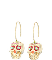 Betsey Johnson - Calypso Sugar Skull Drop Earrings