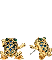 Betsey Johnson - Calypso Frog Stud Earrings