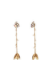 Betsey Johnson - Dream of Betsey Floral Linear Earrings