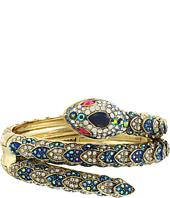 Betsey Johnson - Blue Snake Cuff Bracelet
