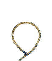 Betsey Johnson - Blue Snake Frontal Necklace