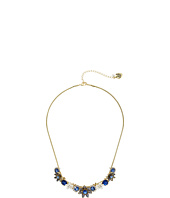 Betsey Johnson - Blue Floral Small Frontal Necklace