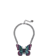 Betsey Johnson - Butterfly Large Pendant Necklace