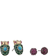 Betsey Johnson - Beetle Duo Stud Earring Set