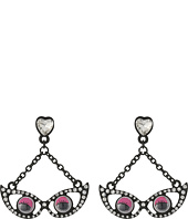 Betsey Johnson - Googly Eyes Glasses Earrings