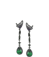 Betsey Johnson - Butterfly Wing Linear Earrings