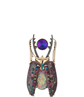 Betsey Johnson - Crystal Beetle Pin