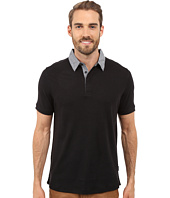 Perry Ellis - Short Sleeve Linen Polo