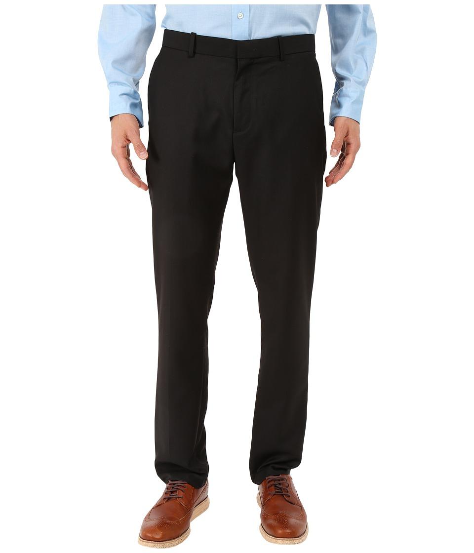 Perry Ellis Slim Fit Stripe Twill Suit Pant Black Mens Casual Pants