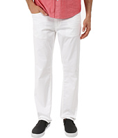 Perry Ellis - Slim Fit Solid Sateen Five-Pocket Pants