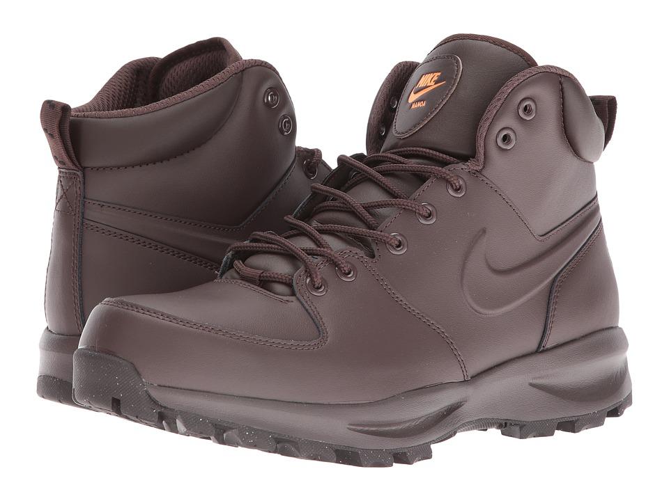 Nike Manoa Leather (Baroque Brown/Total Orange/Baroque Brown) Men