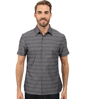 Perry Ellis - Horizontal Textured Stripe Shirt