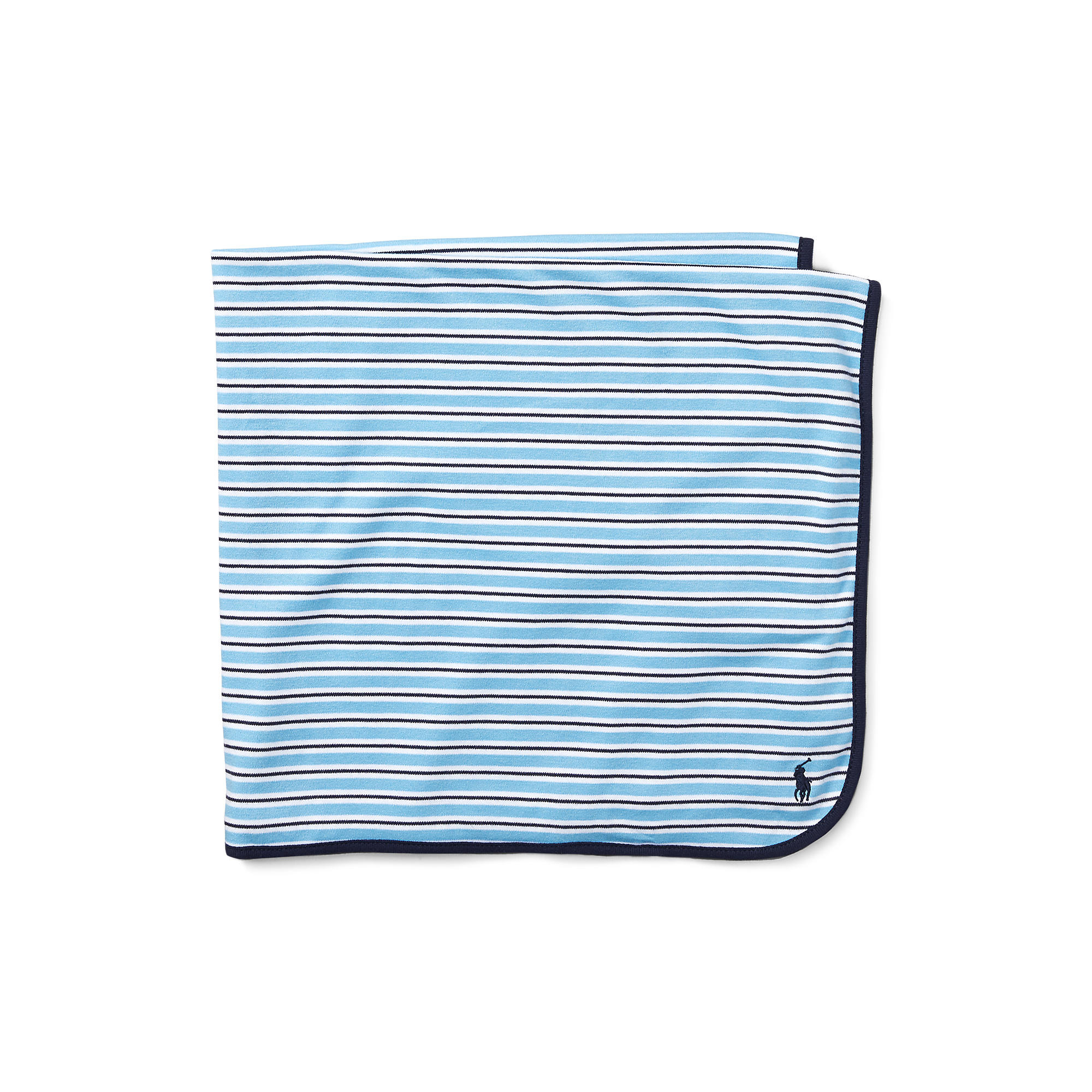 Ralph Lauren Baby - YD Interlock Stripe Blanket