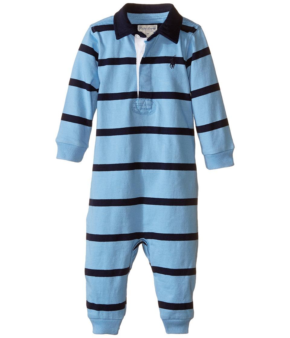 Ralph Lauren Baby - YD Rugby Jersey Stripe Coveralls