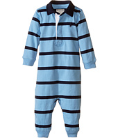 Ralph Lauren Baby - YD Rugby Jersey Stripe Coveralls (Infant)