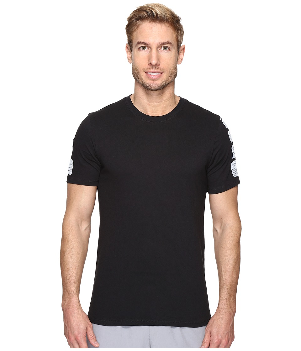 Nike Elite Short Sleeve Tee (Black/Black) Men