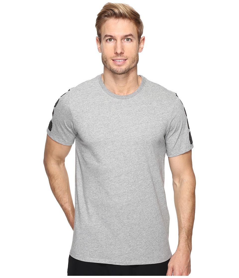 Nike Elite Short Sleeve Tee (Dark Grey Heather/Dark Grey Heather) Men