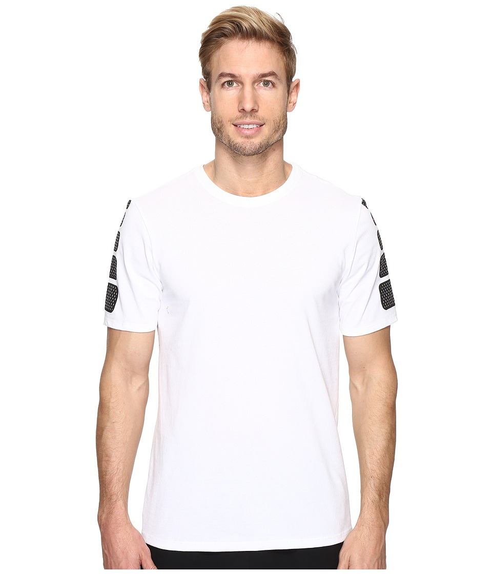 Nike Elite Short Sleeve Tee (White/White) Men