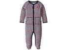Ralph Lauren Baby YD Interlock Stripe Coveralls (Infant)