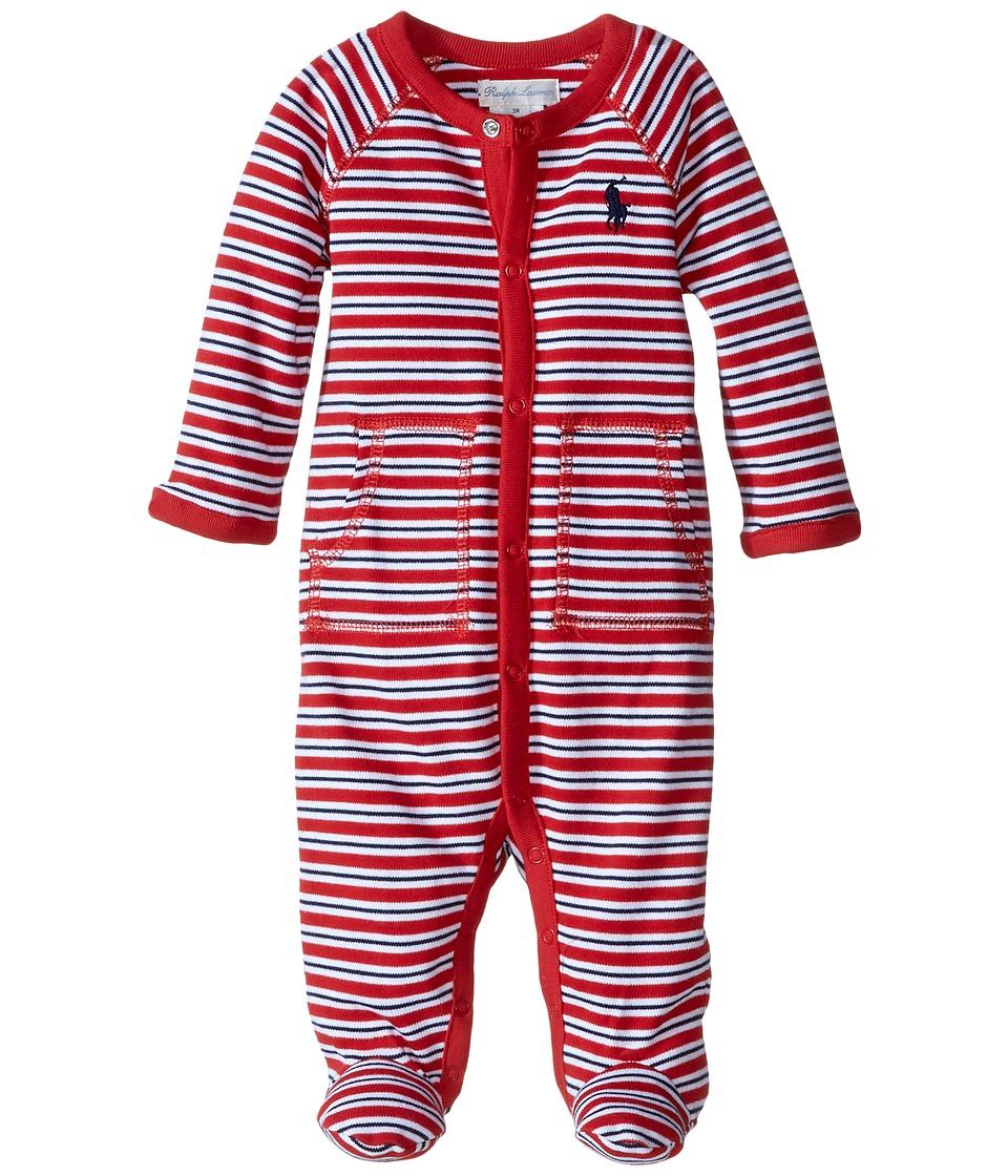 Ralph Lauren Baby - YD Interlock Stripe Coveralls