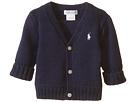 Ralph Lauren Baby Combed Cotton V-Neck Sweater (Infant)