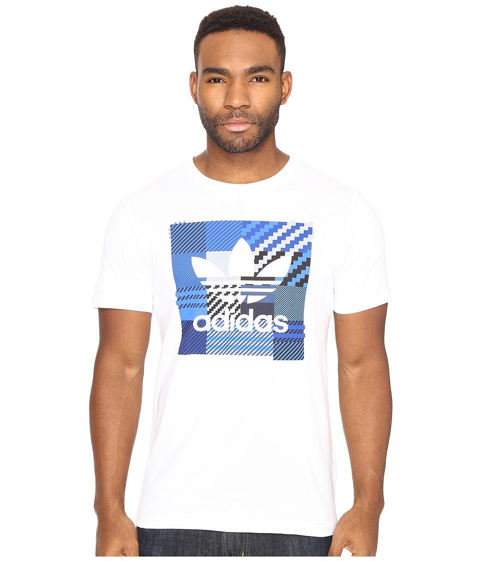 adidas Originals Impossible Check Tee (White) Men
