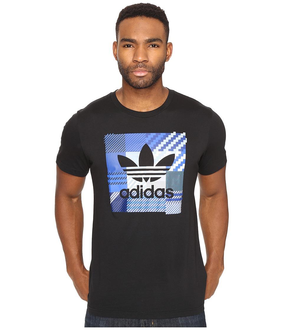 adidas Originals Impossible Check Tee (Black) Men