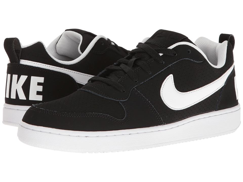 Nike Court Borough (Black/White) Men's Basketball Shoes