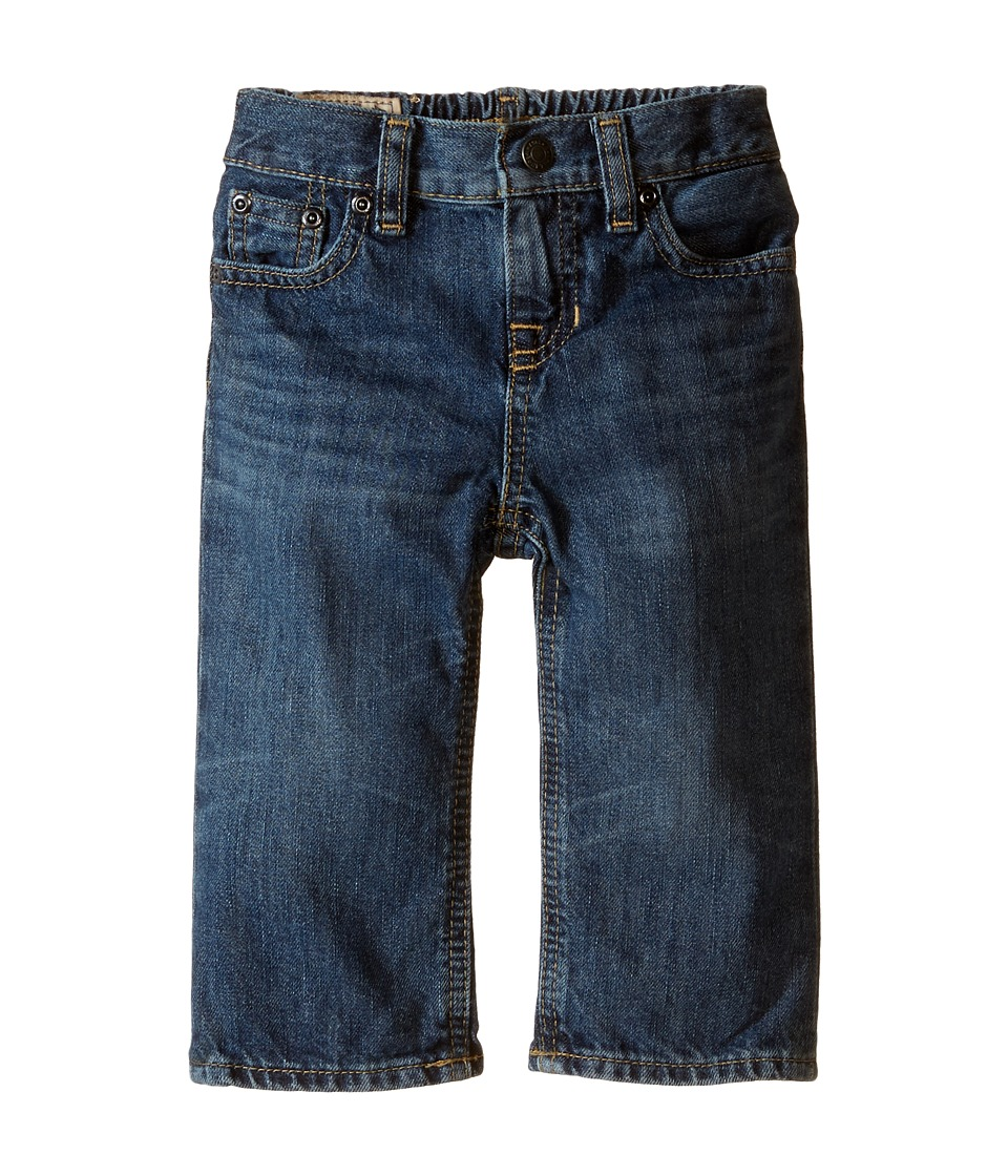 Ralph Lauren Baby - Slim Fit Denim in Bank Wash (Infant) (Bank Wash) Boys Jeans