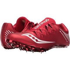 Saucony Mens Showdown 4 Shoes (Red/White)