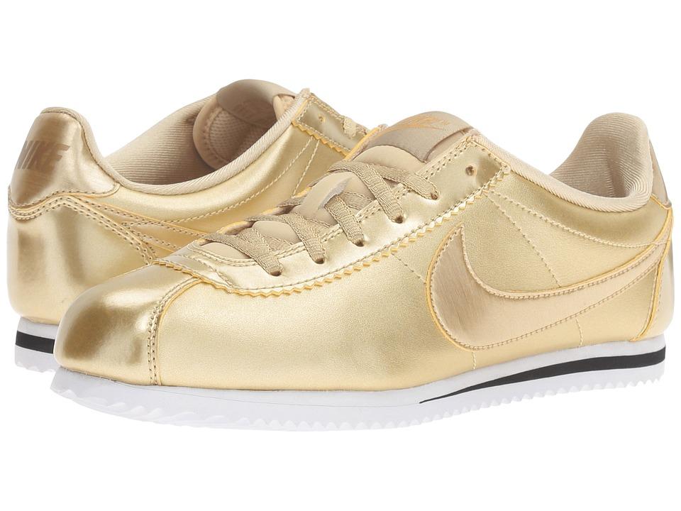 Nike Kids Cortez SE (Big Kid) (Metallic Gold Star/Metallic Gold/Metallic Gold Star) Girls Shoes