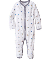Ralph Lauren Baby - Printed Interlock Bear Coveralls (Infant)