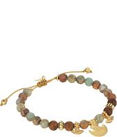 Chan Luu - 6 1'4 Aqua Terra Pull Tie Single Bracelet