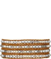Chan Luu - 32' Grey Pearl Mix Wrap Bracelet