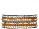 32' Grey Pearl Mix Wrap Bracelet