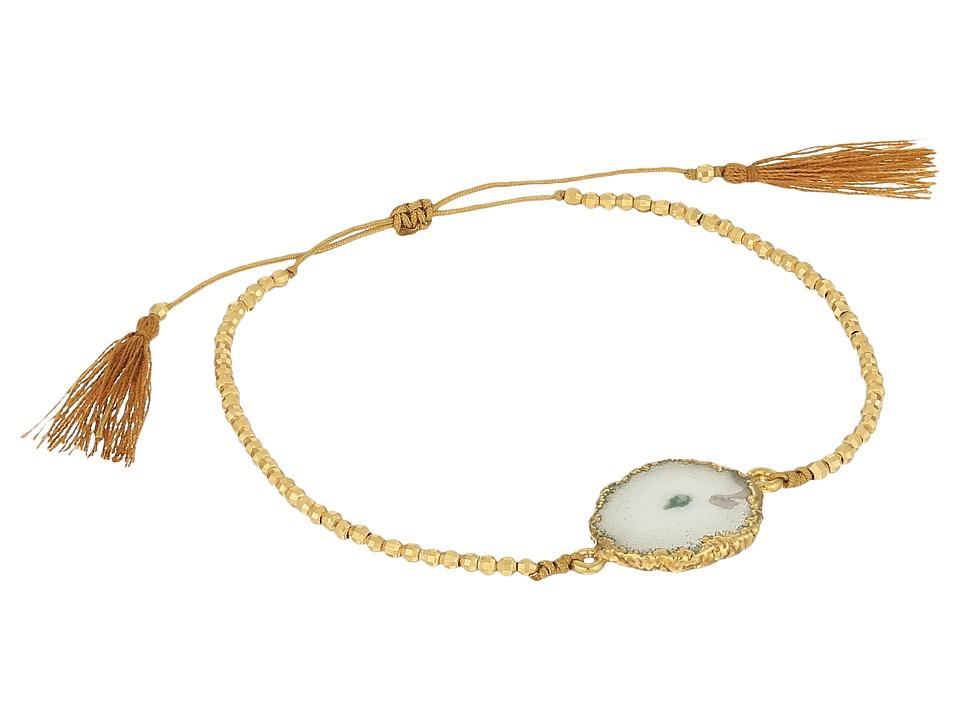 Chan Luu 6 1/4 Pull Tie Solar Quartz Single Bracelet Solar Quartz Bracelet