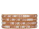 32' Rose Quartz Swarovski Mix Wrap Bracelet