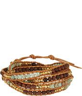 Chan Luu - 32' Aqua Terra Mix Wrap Bracelet