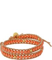 Chan Luu - 12' Salmon Pearl Double Wrap Bracelet