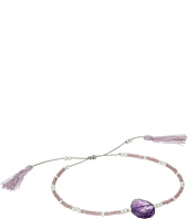 Chan Luu - 6' Adjustable Amethyst Pull Tie Single Bracelet